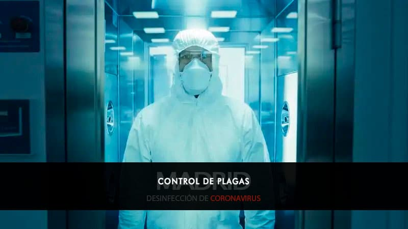Desinfección de Coronavirus Madrid
